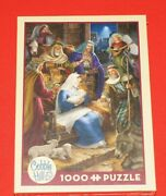 Cobble Hill Holy Night 1000 Piece Jigsaw Puzzle Brand New Sealed