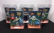 Lot Of 5 Toy Story 2 Action Figures Bullseye And Saddle, Jessie And Critters, Zurg.