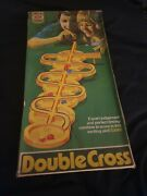 Ideal Double Cross 1972 Marble Rolling Game 100 Complete Boxed Vintage Retro