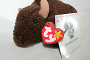 Collectible Ty Beanie Baby Roam Buffalo Bison Sports Promo Sabres 1998