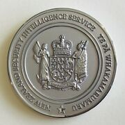 New Zealand Security Intelligence Service Challenge Coin - Nzsis Gcsb Cia