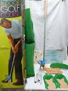 Vintage 1968 Marx Toys Arnold Palmer's Indoor Golf Course Wbox Instructions,exc