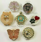 Bbw Vent Visor Clips Bee Butterfly Paw Heart Jewel - You Choose Free Ship