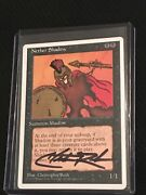 Christppher Rush Altered And Signed Nether Shadow
