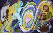 Music And Art Original Painting Psychedelic Artwork_dr. Seuss And Peter Max Vibes