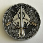 Isa Operational Security Evaluation Group Challenge Coin - Oseg Cia Usaisa