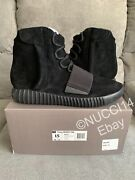 Brand New Adidas Yeezy 750 Boost Triple Black Size 15 Authentic Bb1839