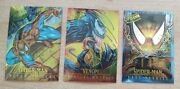 1995 Fleer Ultra Spiderman Masterpieces Trading Cards Lot Of 3