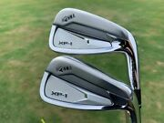 Brand New Honma Menand039s Xp-1 Iron Set Rh Steel / Graphite - Made In Japan