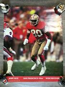 Jerry Rice Vintage 1992 Poster San Francisco 49ers 16x20