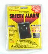 Vintage Save Your Life With The Amazing Safety Alarm 2 Hours Continuous Siren
