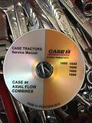Best Case Ih 1620 Combine Tractor Parts Owners Operator Service Repair Manual Cd