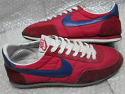 Nike Gemini Red X Navy Blue Menand039s Sneakers Us8.5 1982 Vintage Made In Korea Rare