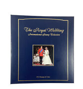 The Royal Wedding International Stamp Collection Album 55 Panels 54 Stamp Sheets