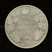 1911 Canada Silver Fifty Cents - No Reserve Sale