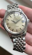 Vintage Omega Seamaster Chronometer Automatic Silver Dial Quickset Date Watch