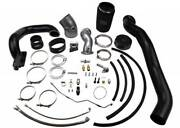 Wc Fab Twin Turbo Kit S400/stock For 2010-2012 Cummins 6.7l Wcfab Grey