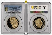2015 50th Anniversary Gold Plated 50c Proof Coin Pcgs Pr70dcam 5192