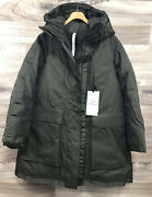 Lululemon Out In The Elements 3-in-1 Parka Size 6 Dark Olive Dkov - 33918