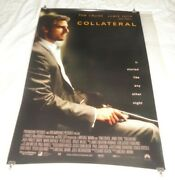 Collateral Original Us One Sheet Movie Cinema Posters X 2 Teaser 2004 Tom Cruise