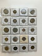 Lot Of German Coins 1941 To 1979 Germany