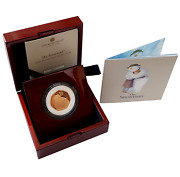 2020 Snowmanand039 Gold Proof 50p - 275 Issue Limit.