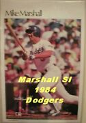 Mike Marshall Sports Illustrated Poster - Los Angeles Dodgers Mlb Si 4559