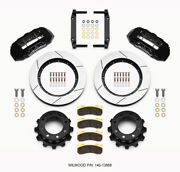Wilwood Tx6r Rear Kit 15.50in Black For 2005-2012 Ford F250/f350 4wd - Wil140-13