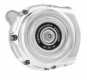 Performance Machine Chrome Vintage Air Cleaner Harley Twin Cam Dual-cable