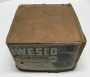 Vintage Weso New Tire Chains Bar-reinforced No. 1861