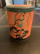 Asian Chinese Japanese Tins -tea Snuff Old -vtg/4andrdquo