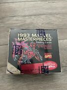 1993 Marvel Masterpieces Trading Card Box Factory Sealed Masterpiece