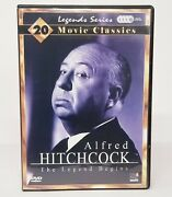 Rare Dvd 4 Disc Alfred Hitchock Box Set 20 Movie Classics Man Who Knew Too Much