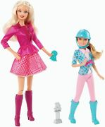 Barbie And Her Sisters In A Pony Tale Barbie And Stacie Doll 2-pack