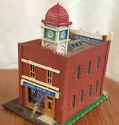 Vintage Brick Printing Building For N Scale Model Railroad Trains By Rolo German