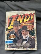Indy Indiana Jones And The Last Crusade Pc Game 5.25 Floppy Disks Big Box Complete