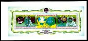 Niue 1989 1.15 Armstrong First Moon Landing Proof Of The S/s Changed Colors 3v