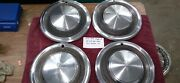 1974 75 76 77 1978 Plymouth Trail Duster Hubcaps Fury Van 100 200 300 Set Of 4