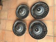 60and039s 70and039s 68 69 70 71 72 Buick Gs Vista Cruiser Nice Oem Wire Set Of 14 Hubcaps