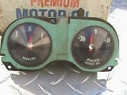 Vintage Estate Lot Of 60and039s Chevy Corvair Spyder Monza Turbo Factory Gauges