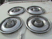 60and039s 70and039s Buick Riviera Set Of Four 15 Hubcaps