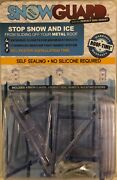 12packs Of 4snow Guards-48 Seal Gaskets 48 Snow Guards And Hardware Metal Roof