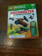 Lego Ninjago Brickmaster Hardcover Book And039fight The Power Of The Snakesand039 New