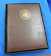 World Reserve Monetary Exchange Deluxe Binder For Uncut Currency And Bills