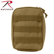 Rothco Molle Tactical Trauma And First Aid Kit Pouch-blackodcoyotemulticamred