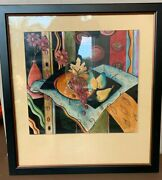 Rare Ethan Allen Signed American Impressions Wall Art 36 3/8 X 40
