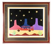 Ethan Allen John Runne Signed And Numbered Print Star Tours