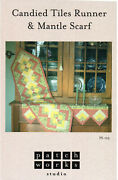 Candied Tiles Runner And Mantle Scarf Sewing Quilt Pattern Table Topper Runner