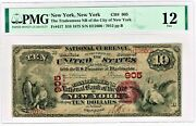 New York Ny - 10 1875 Fr. 417 Tradesmenand039s National Bank Ch. 905 Pmg Fine 12.