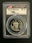 2006-w 50 1/2 Ounce Platinum Eagle Coin Graded Proof 70 - Mercanti Signed